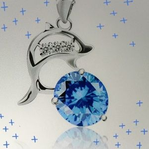 Jewelry - CRYSTAL DOLPHIN NECKLACE